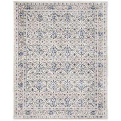 Lamartine Light Gray/Blue Area Rug 8'x10' - Wayfair