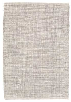 MARLED GREY WOVEN COTTON RUG, 9' x 12' - Dash and Albert