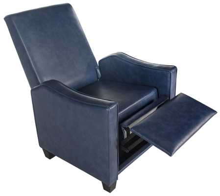 Holden Recliner Chair - Navy/Black - Arlo Home - Arlo Home