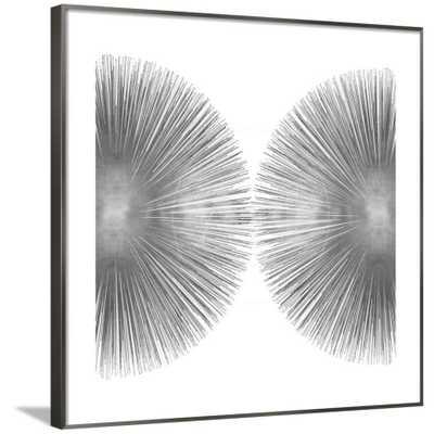 "SILVER SUNBURST II - Framed - Frame Summary: RONDA Silver - Width 0.375"" Glass: Acrylic: Clear; No Mat - art.com"