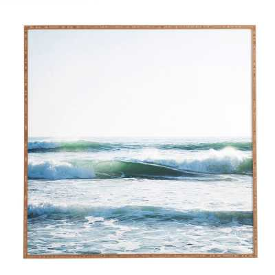 'Ride Waves' Framed Photographic Print - Wayfair