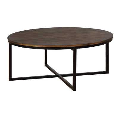 Gracie Oaks Hensley Round Coffee Table - Wayfair