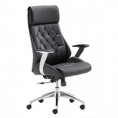 Boutique Office Chair Black - Zuri Studios