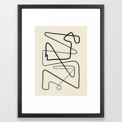 Movements Framed Art Print - Society6