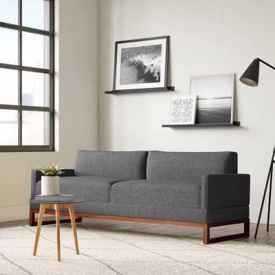 "80"" Square Arm Sofa Bed - AllModern"