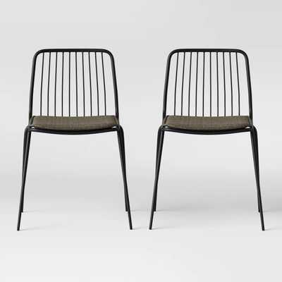 Set of 2 Sodra Square Seat Wire Dining Chair - Project 62™ - Target