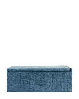 LINEN COVERED BOX - McGee & Co.