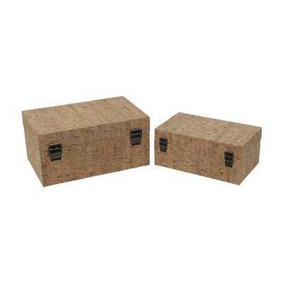 Staats 2 Piece Decorative Box - Wayfair