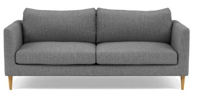 Owens Sofa with Plow Fabric, Natural Oak legs - Interior Define