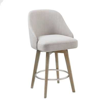 "Lermitage 25.75"" Swivel Counter Stool - AllModern"