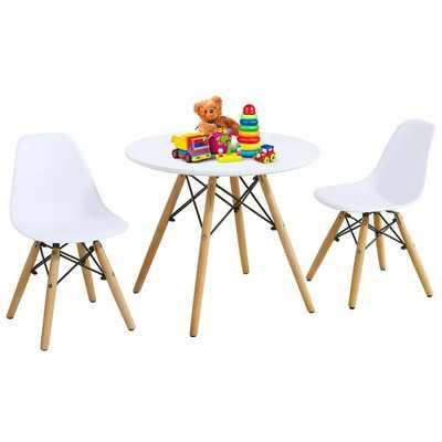 Eyler Kids 3 Piece Writing Table and Chair Set - Wayfair
