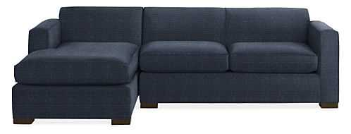 """Ian Sofas with Chaise, 108"""" sofa with left arm chaise - Room & Board"""