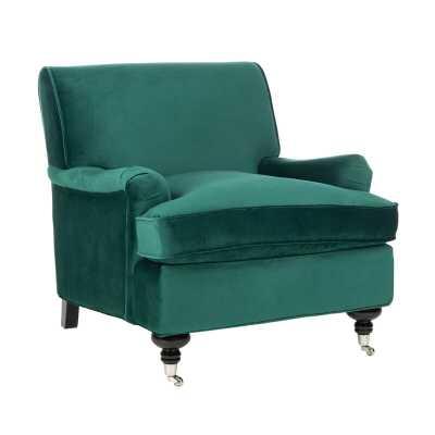 Duluth Armchair - Emerald - Wayfair