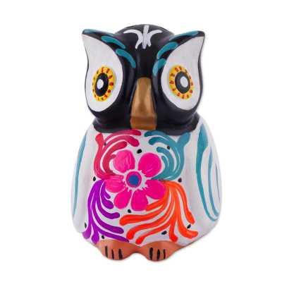 Floral Owl Ceramic Incense Burner - Wayfair