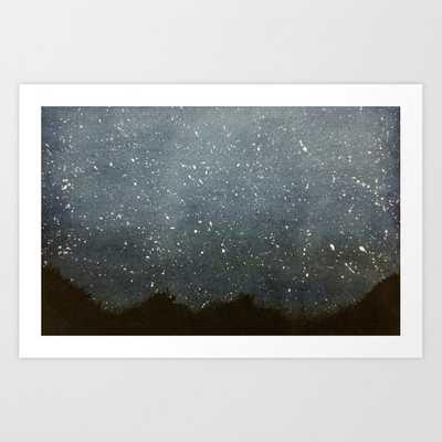 Night Sky Art Print - Society6