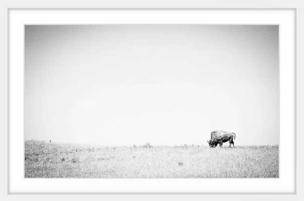 "'Distant Grazing' Framed Photographic Print on Paper 24""x36"" - AllModern"