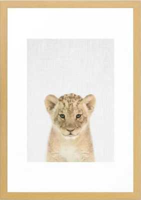 Baby Lion, 15x21 - Society6