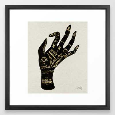 Palmistry Framed Art Print by catcoq - Society6