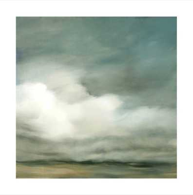 """First of October, Unframed, 30""""x30"""", White Border - Minted"""