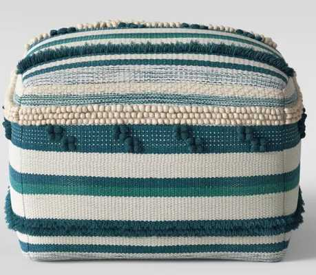 Lory Pouf - Opalhouse Teal/Green - Target