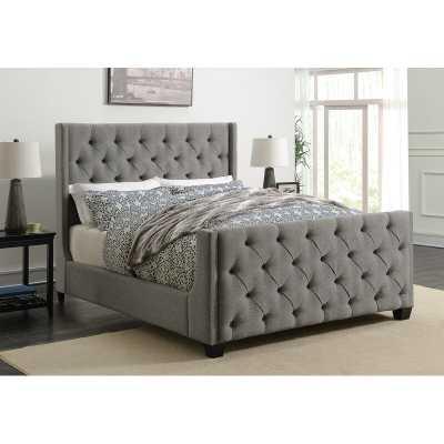 Greig Upholstered Panel Bed - Cal. King - Wayfair