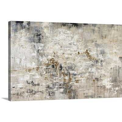 """24"""" H x 36"""" W x 1.25"""" D 'Golden Reflections' Painting on Canvas - Wayfair"""