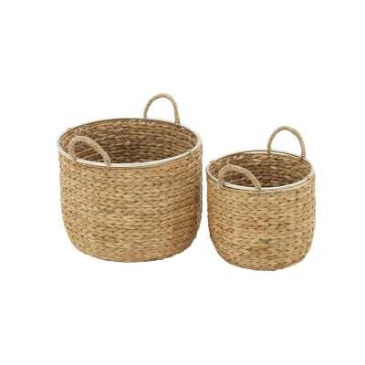 Wicker Basket Set - Wayfair