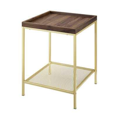 Pullman Square Mesh Tray Table - Wayfair