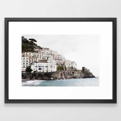 Amalfi Coast - Vector Black - Society6