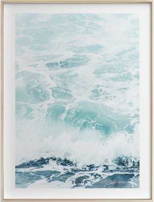 "Storm Swell - Matte Brass Frame - 18"" x 24"" - Minted"