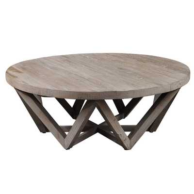 Kendry Reclaimed Wood Coffee Table-  EST: MAY 31, 2021 - Hudsonhill Foundry