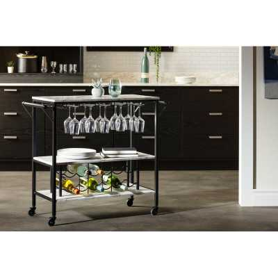 Maliza Bar Cart - Wayfair