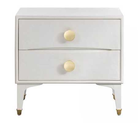 Maria White Nightstand - Maren Home
