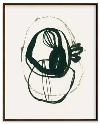 black 03 , 18x24 - Matte Black Frame - Minted