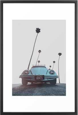 California Framed Art Print - 26x38 - Society6