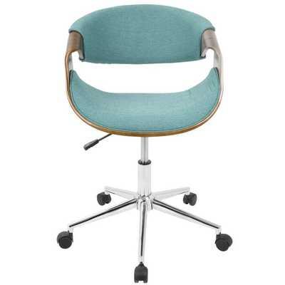Auburn Office Chair - Teal - Wayfair