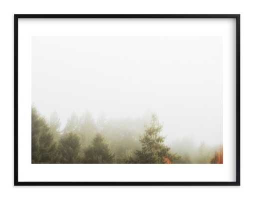 Foggy Autumn Forest Morning - Minted