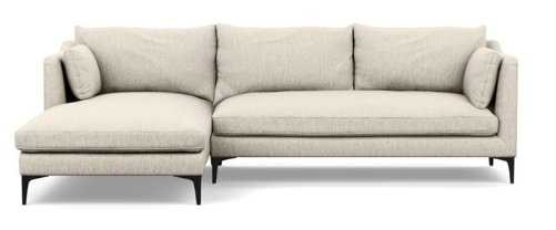 CAITLIN BY THE EVERYGIRL Sectional Sofa with Left Chaise - Interior Define