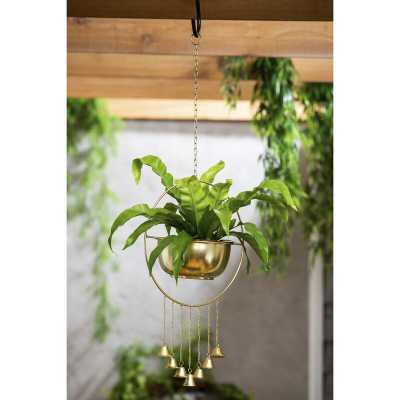 Metal Hanging Planter - Wayfair