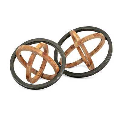 TY Canyon Dimensional Wall Decor - Set of 2 - Mercer Collection