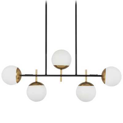 HARMONY GLOBES ISLAND CHANDELIER - Shades of Light