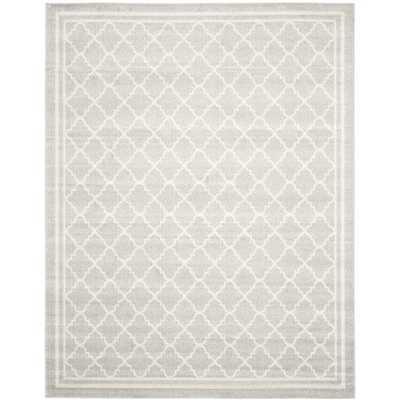 Safavieh Indoor/ Outdoor Amherst Light Grey/ Beige Rug (8' x 10') - Amazon