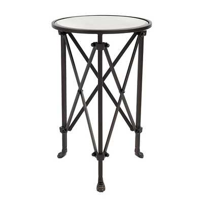 Ballard Designs Olivia Mirrored Side Table - Ballard Designs
