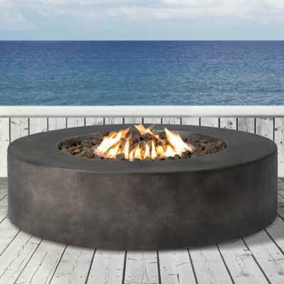 Grice Concrete Propane Gas Fire Pit Table - Wayfair