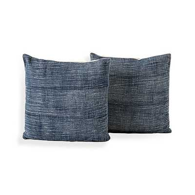 "Mathias Pillow 20"", Set of 2 - Crate and Barrel"