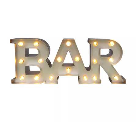 Bar Marquee LED Light Brass - Threshold™ - Target