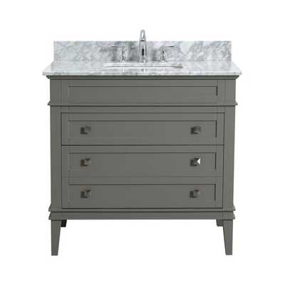 "Shanda 36"" Single Bathroom Vanity Set - Wayfair"