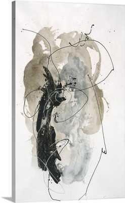 'Silver Window' by Rikki Drotar Painting Print on Canvas - Wayfair
