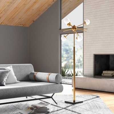 "Elle 63.5"" Floor Lamp - Wayfair"