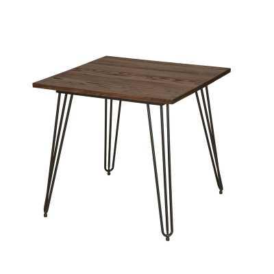 Szymanski Industrial Dining Table - Wayfair